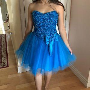 Blue Princess Semi-Formal Dress